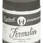 COMPOUNDS:FORMALIN