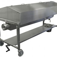 Dissection Table with Hood and Extraction
