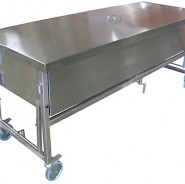Manually Elevated Immersion Dissection Table